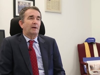 Northam Gives Boost to Anti-Trump Movement