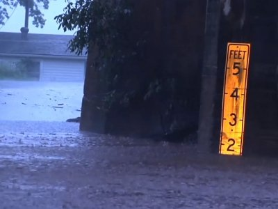 Chief: Two Missing, Swept Away in Storm Flood