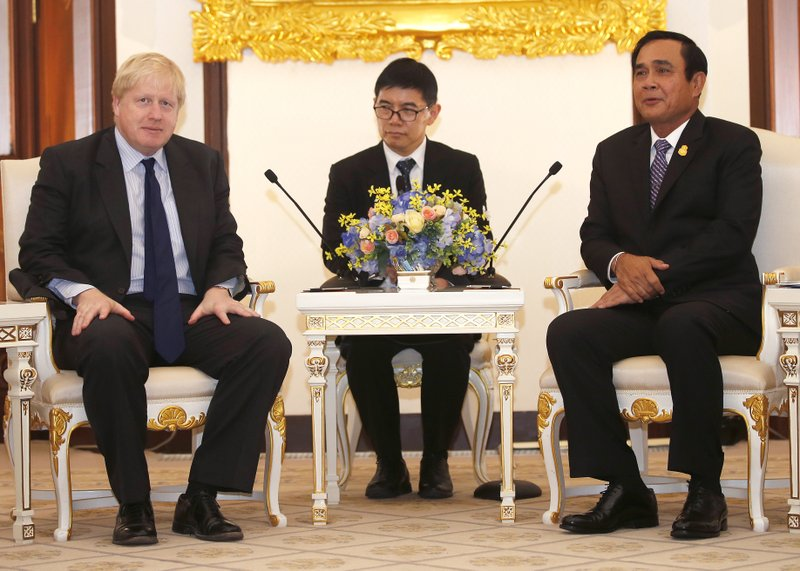 Prayuth Chan-Ocha, Boris Johnson