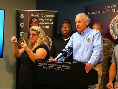 S.C. gov. warns of landslides, power outages