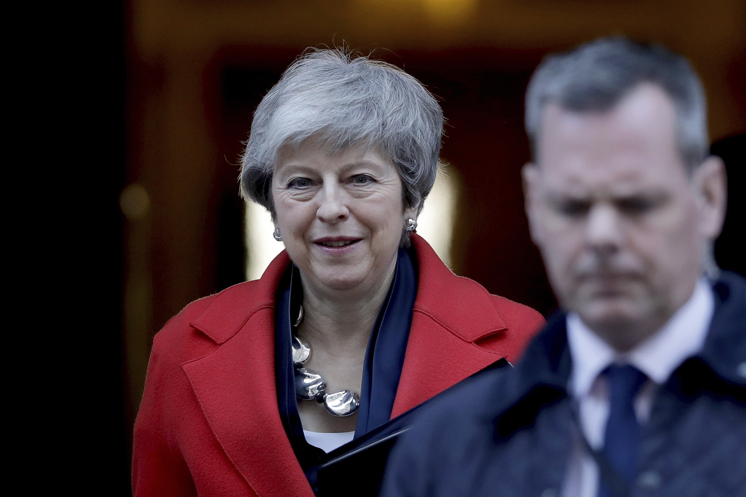 The Latest: Lawmakers to vote on no-deal Brexit or delay