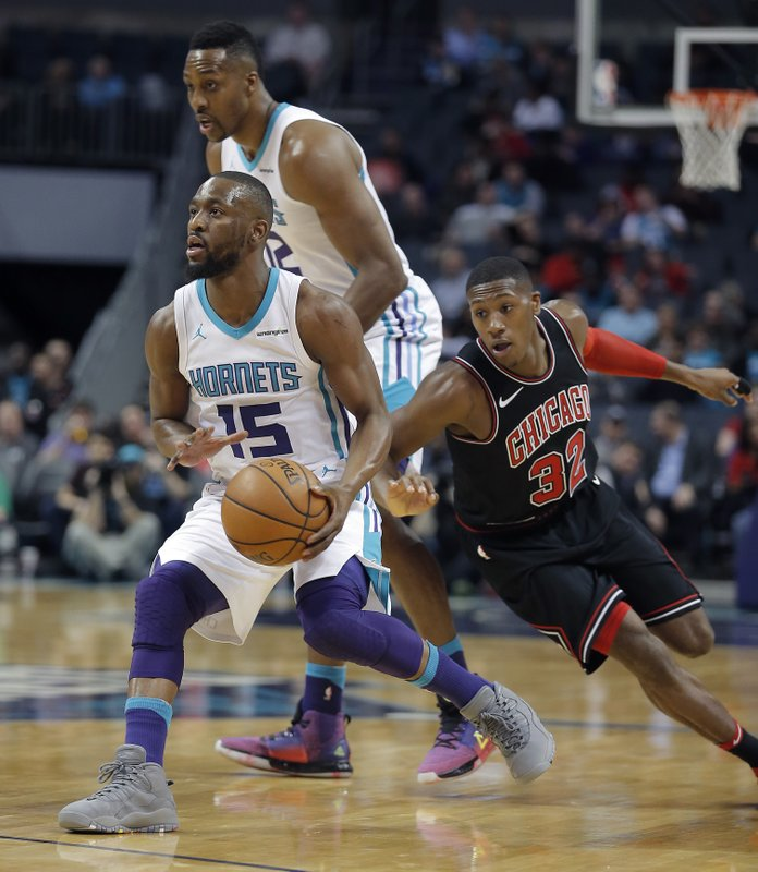 Kemba Walker, Dwight Howard, Kris Dunn