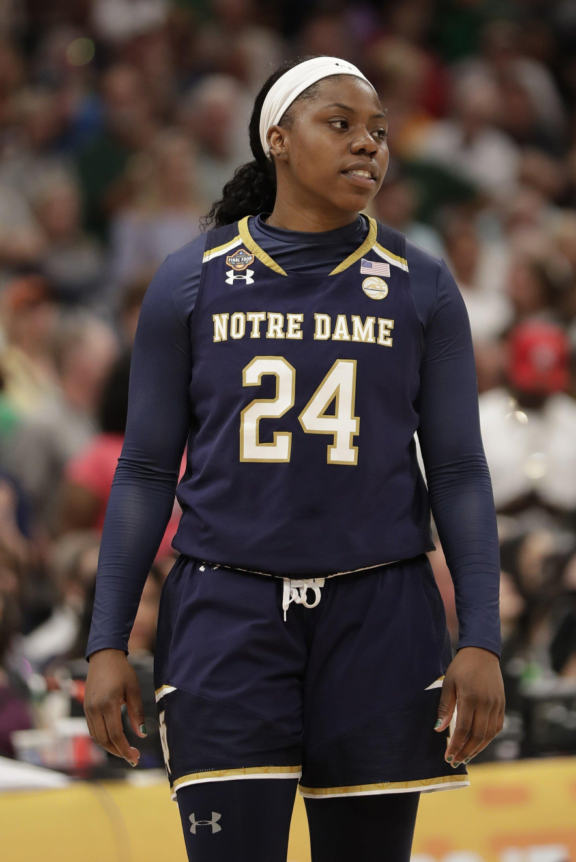brand new 056cc d2555 Notre Dame s shot at making history falls short