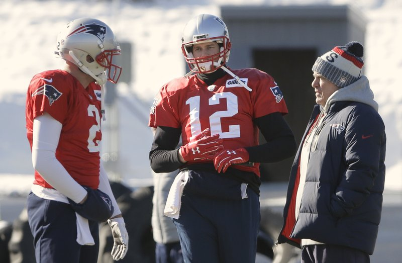 Brian Hoyer, Tom Brady, Bill Belichick