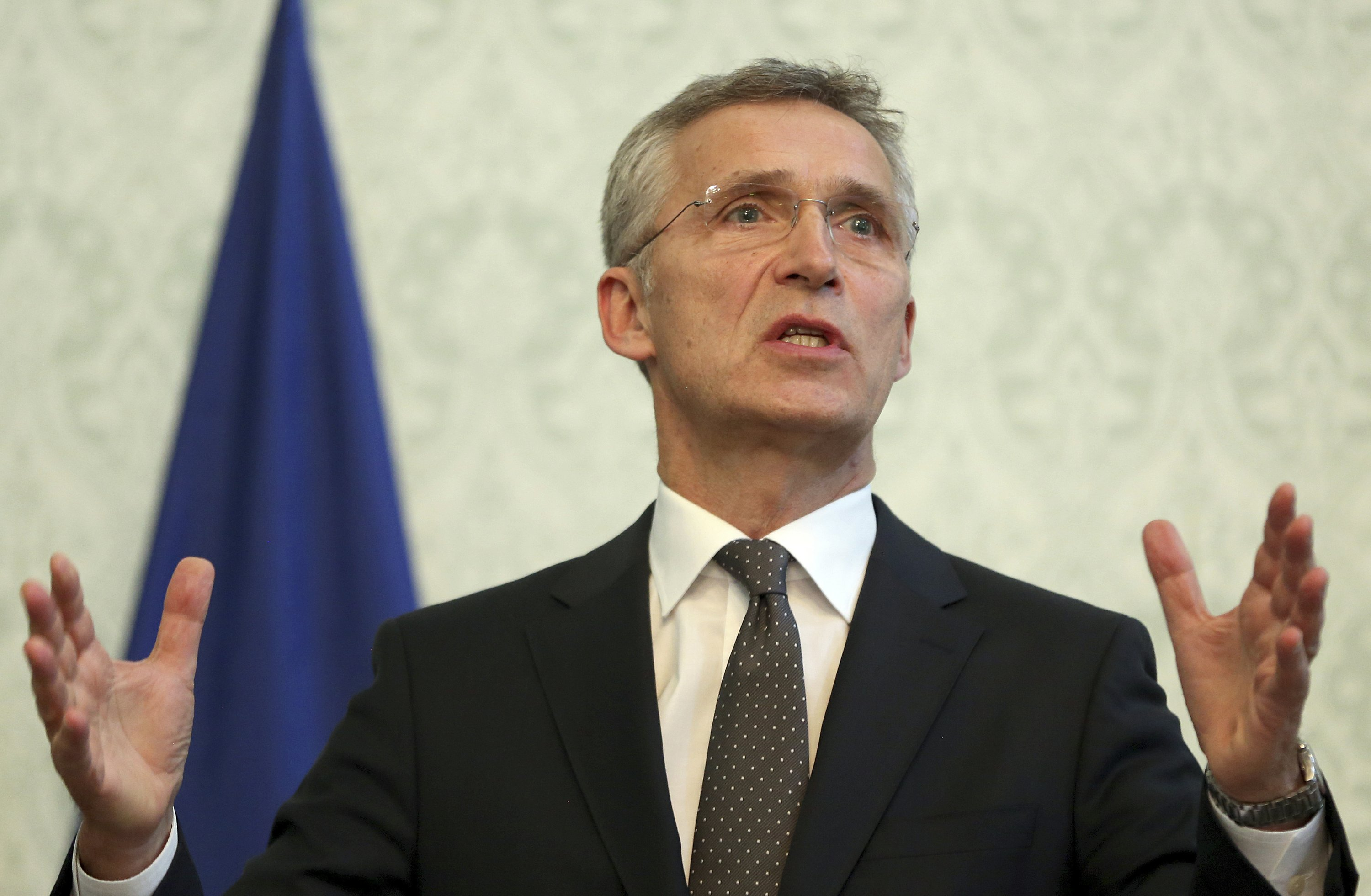 NATO chief appeals for peace; Taliban kill 20 Afghan guards