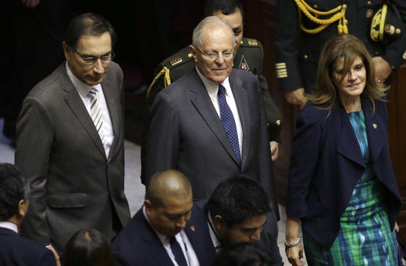 Pedro Pablo Kuczynski, Martin Vizcarra, Mercedes Araoz