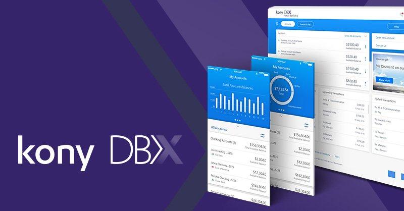 Kony Unveils New Digital Banking Solution - Kony DBX