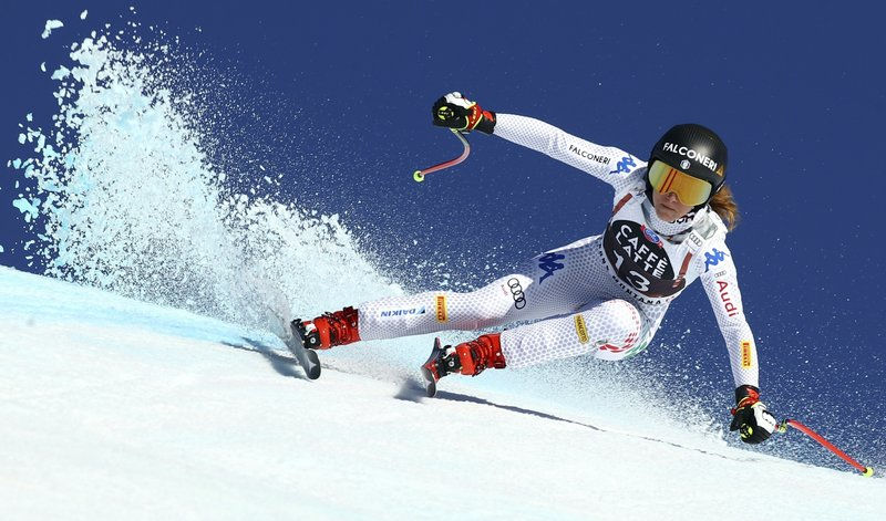 Goggia wins World Cup downhill marred by faulty race timing