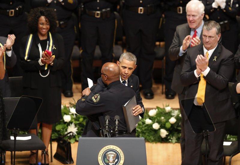 David Brown, Barack Obama, John Cornyn, Mike Rawlings