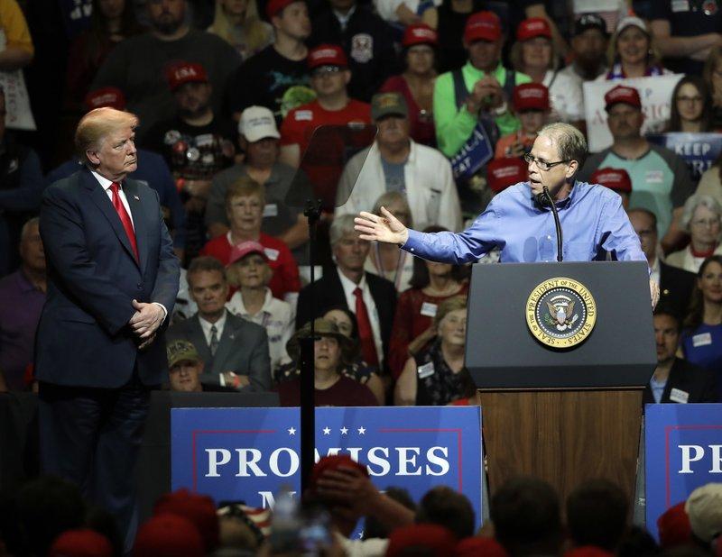 Donald Trump, Mike Braun