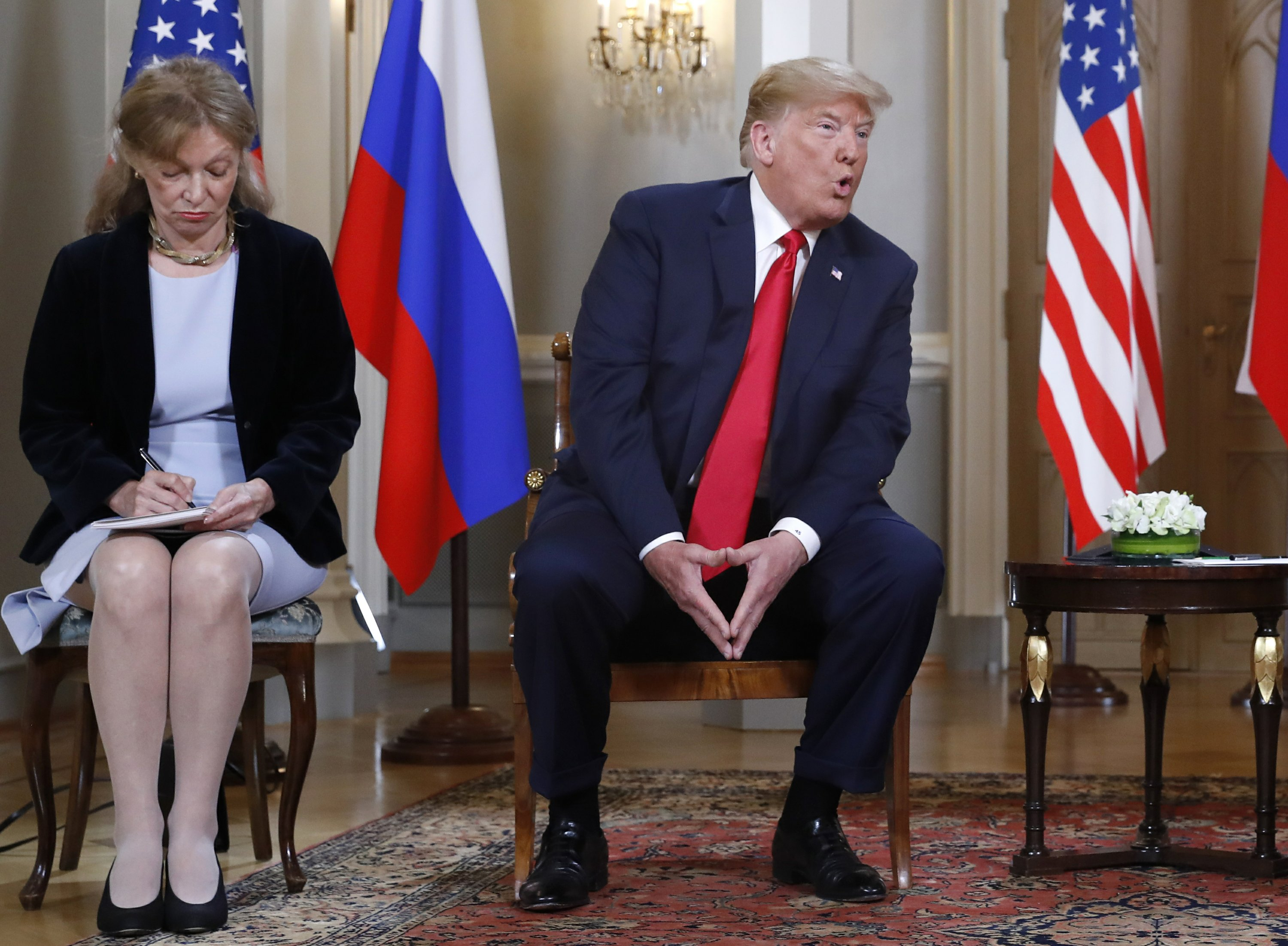Russia slams proposal to question Trump summit...