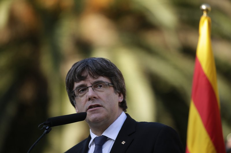 Image result for Catalan leader's letter doesn't clarify independence status, Catalonia'