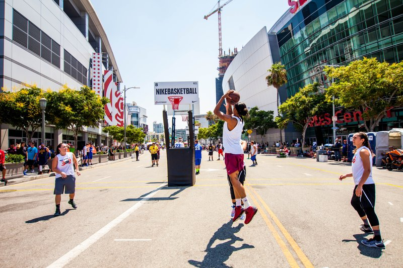 Nike Basketball 3ON3 Tournament Celebrates 10th Anniversary at L.A. LIVE, August 3-5