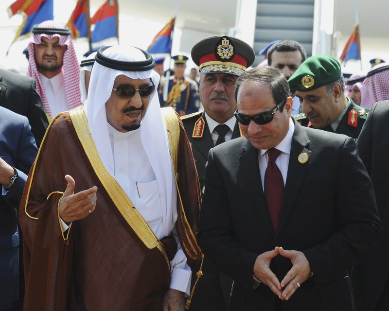 Abdel-Fattah el-Sissi, Salman