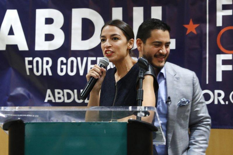 Alexandria Ocasio-Cortez, Abdul El-Sayed