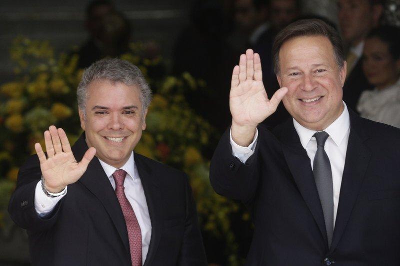 Ivan Duque, Juan Carlos Varela
