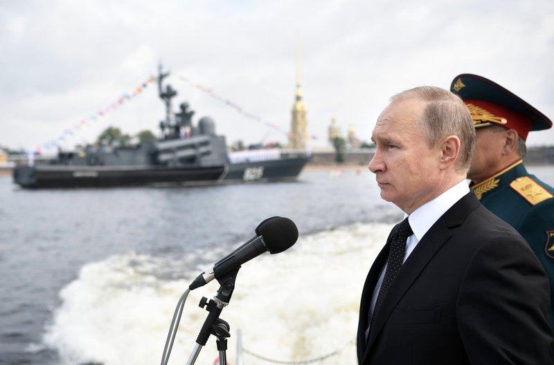 Sergei Shoigu, Vladimir Putin