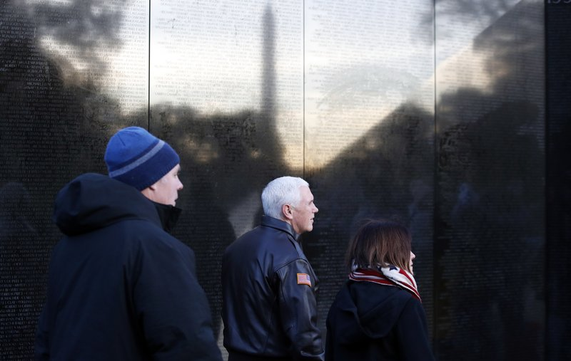 Mike Pence, Karen Pence, Ryan Zinke