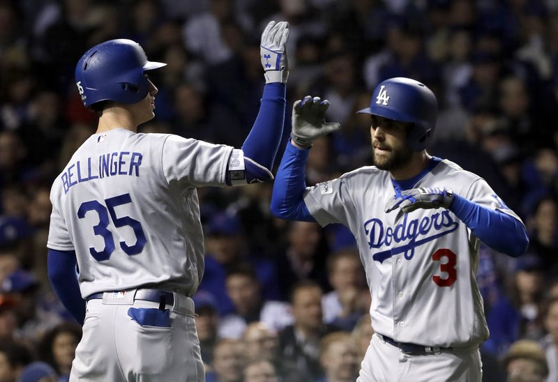 Chris Taylor, Cody Bellinger