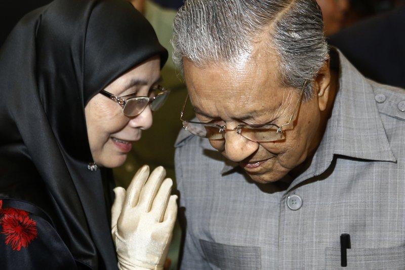 Wan Azizah, Mahathir Mohamad