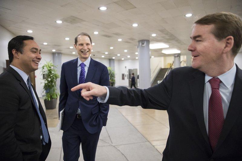 Joaquin Castro, Ron Wyden, Michael Bennet