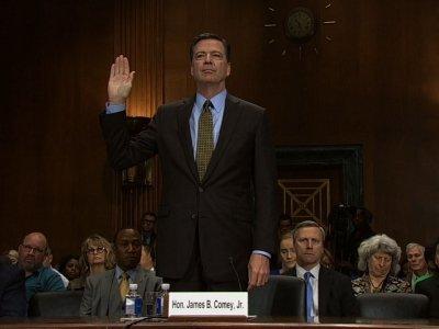 Washington Braces As Comey Prepares to Testify