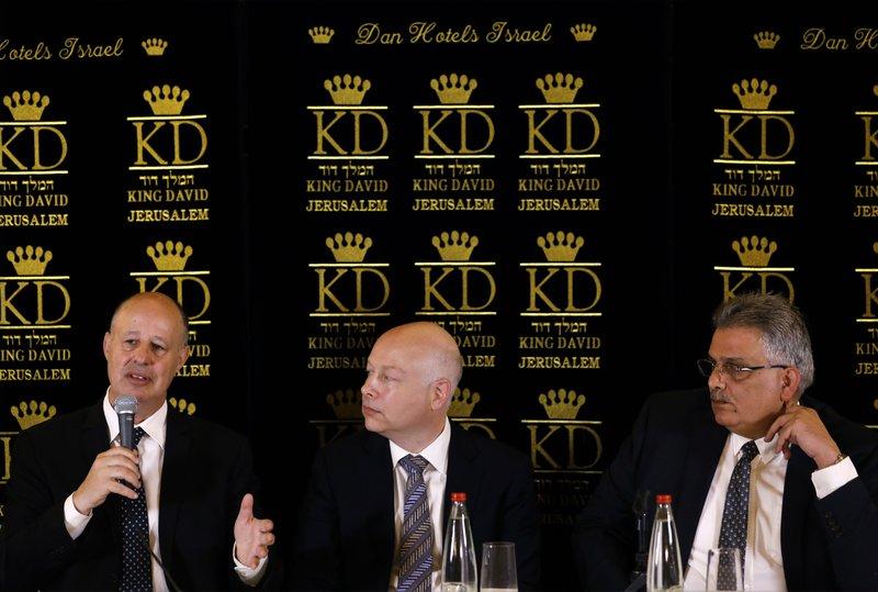 Jason Greenblatt, Mazen Ghoneim, Tzachi Hanegbi
