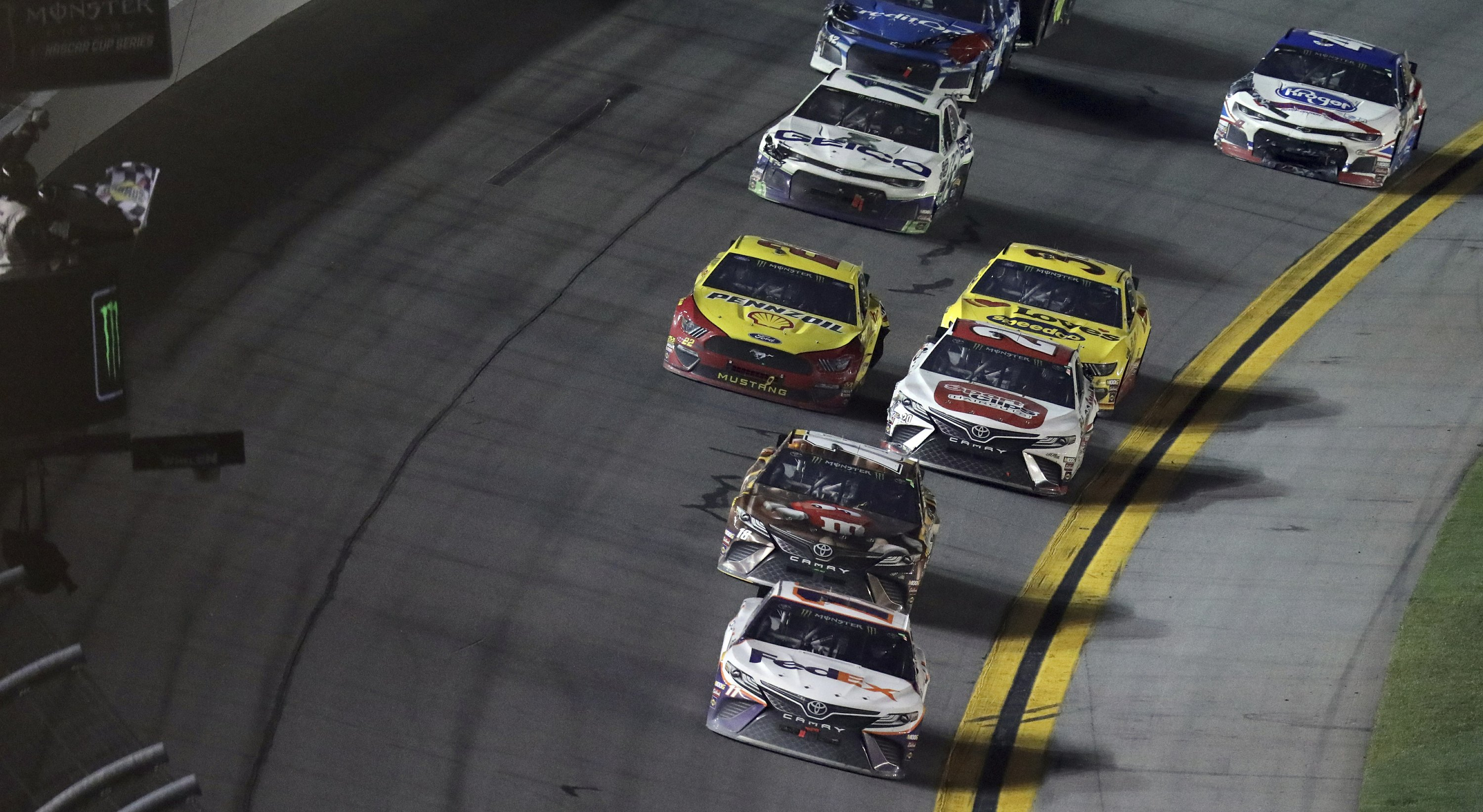 McDowell defends Daytona 500 decision not to push Logano - The Associated Press