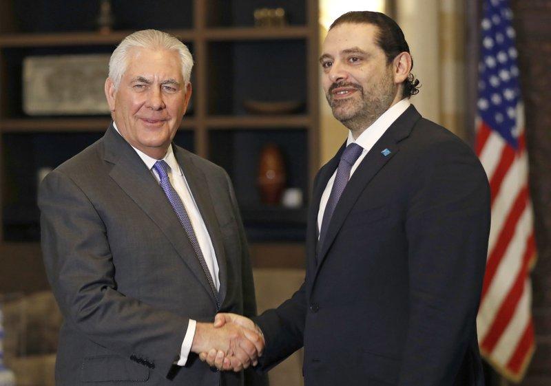 Rex Tillerson, Saad Hariri