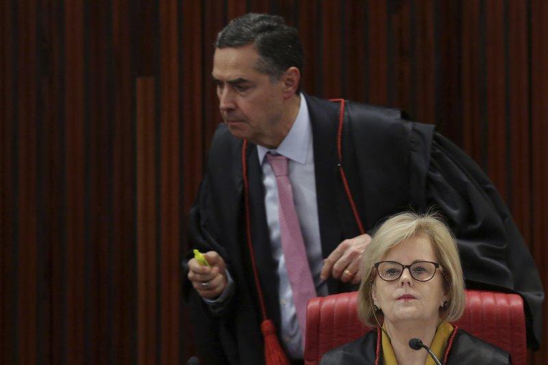 Rosa Weber, Luis Roberto Barroso