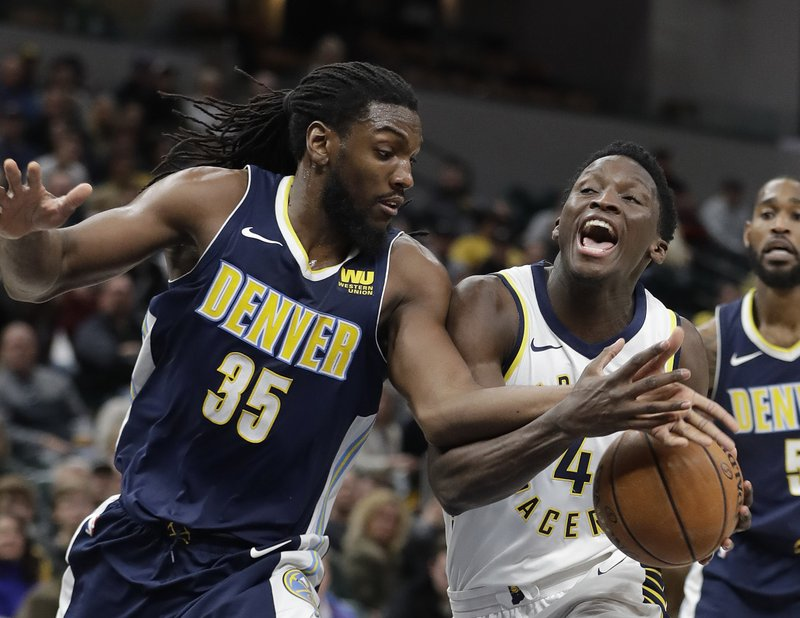 b1635a4c45a Oladipo scores career-high 47 as Pacers beat Nuggets in OT