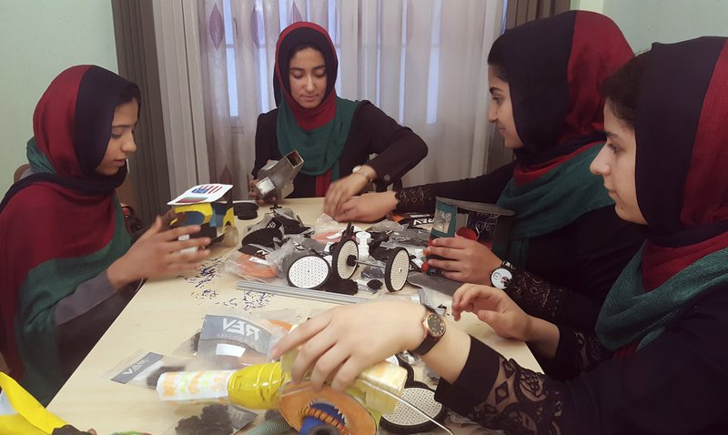 Afghan girls will be allowed into US for robotics contest