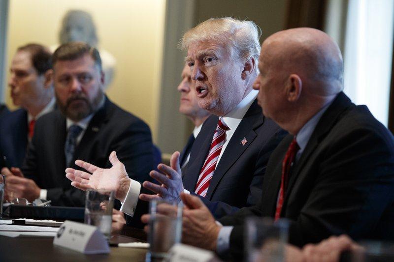 Donald Trump, Rick Crawford, Pat Toomey, Kevin Brady, Ron Wyden