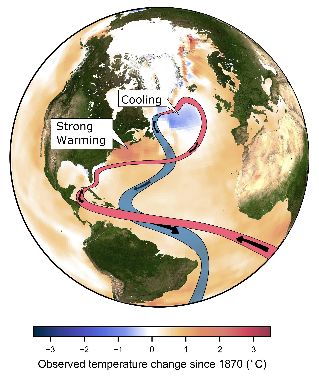 Study: Global warming is weakening key ocean circulation