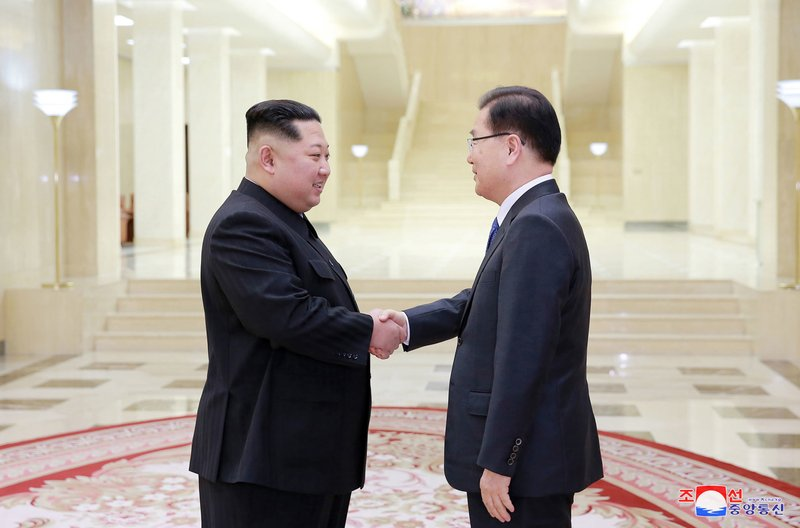 The Latest: UN chief encouraged by Koreas' agreement to meet