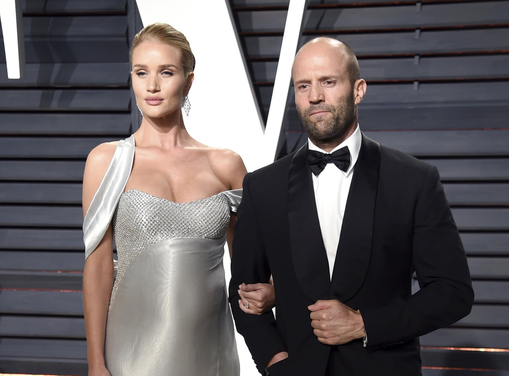Rosie Huntington Whiteley Jason Statham Welcome A Baby Boy