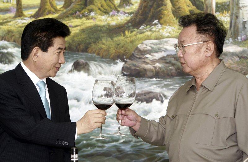 Kim Jong Il, Roh Moo-hyun