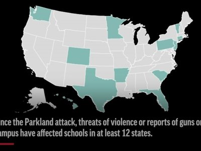 Schools Across Country Dealing With Gun Threats