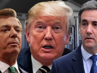 Cohen, Manafort Signal Serious Moment for Trump