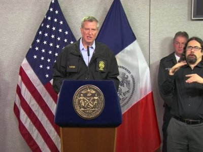 NYC Mayor: Snow Will Make Rush Hour Difficult