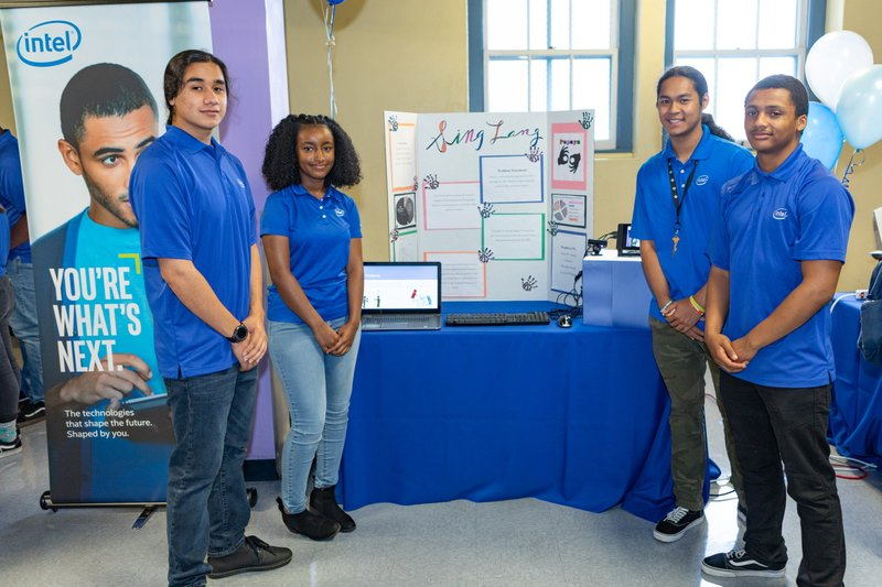 Intel's Summer Interns From Oakland Schools Showcase Innovative Projects
