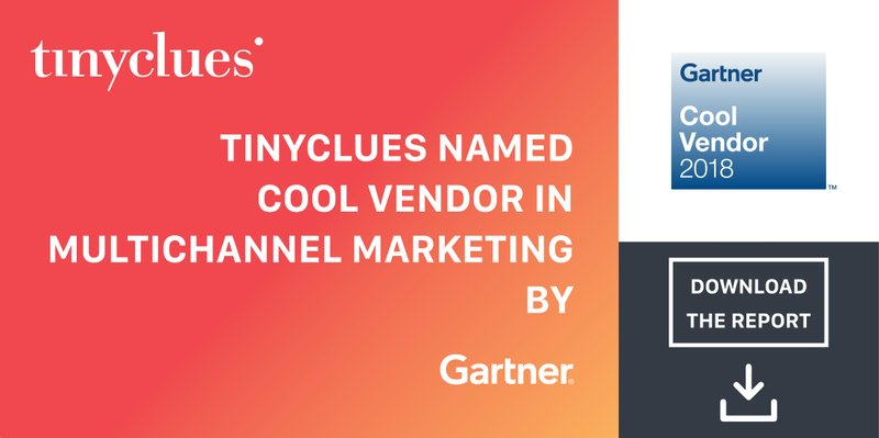 Tinyclues Named in Gartner's 2018 Cool Vendors in Multichannel Marketing