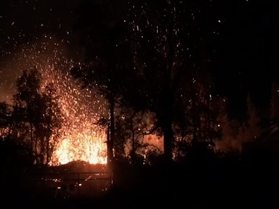 Video Captures Spewing Hawaii Lava