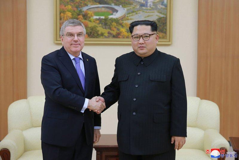 Kim Jong Un, Thomas Bach