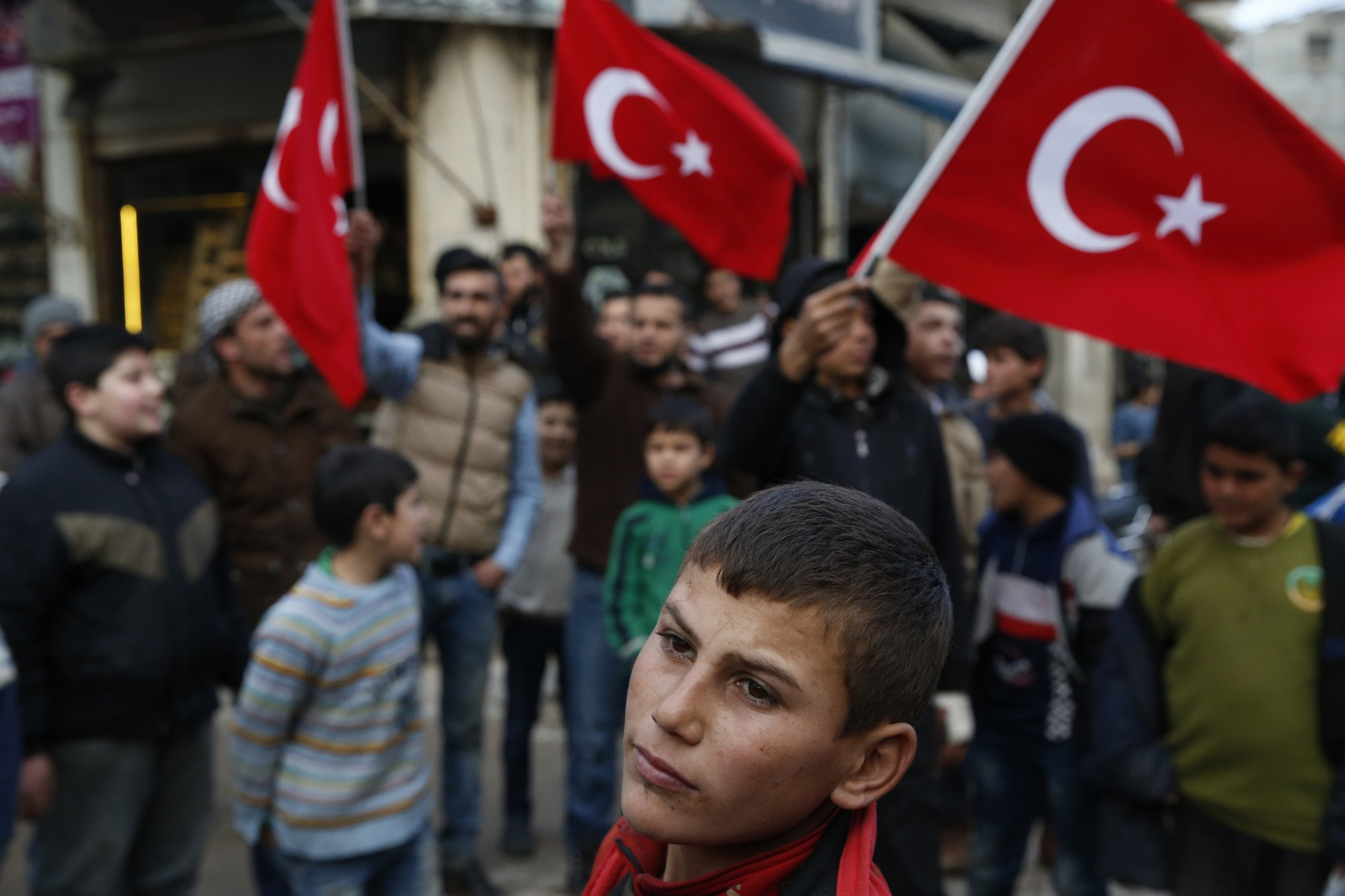 Blurring The Border Turkey Deepens Roots In Northern Syria