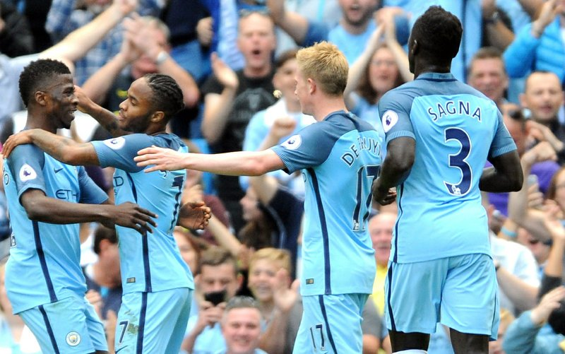 Man City thrashes Bournemouth 4-0 for 5th straight EPL win