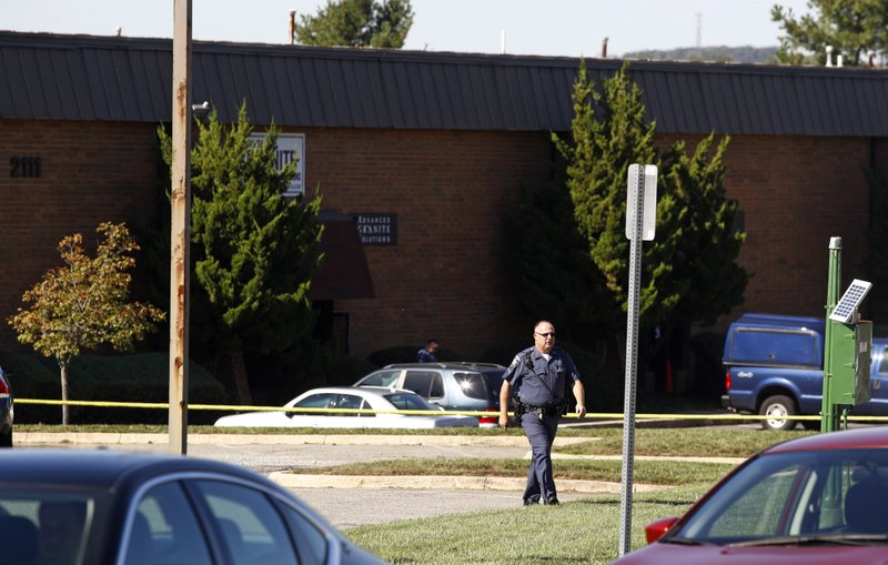 Suspect in Maryland office park shooting is apprehended