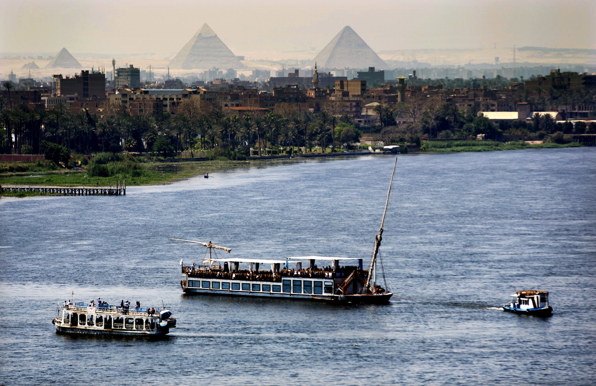 Dam Upstream Leaves Egypt Fearing For Its Lifeline The Nile