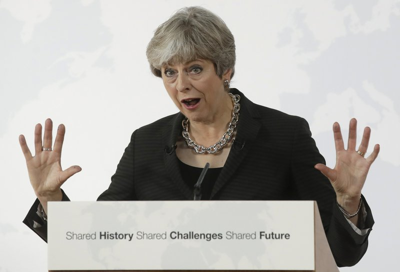 May tries to reboot Brexit, offers 2-year transition period