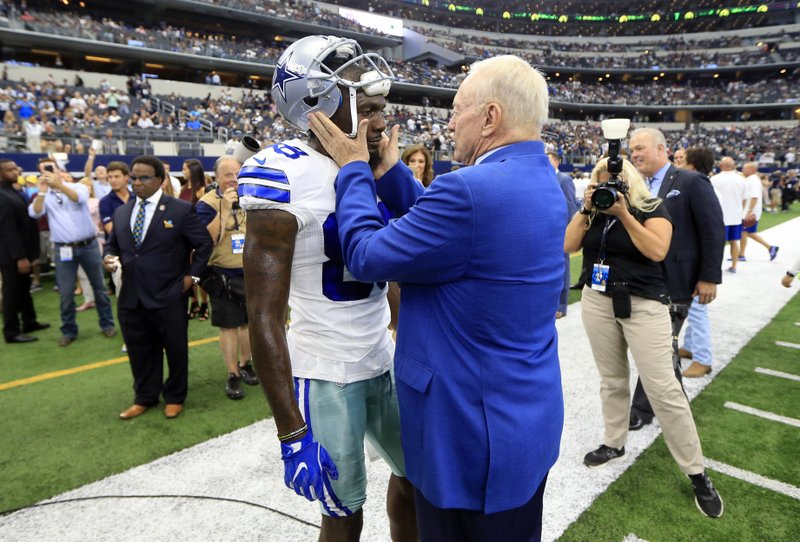 Dez Bryant, Jerry Jones